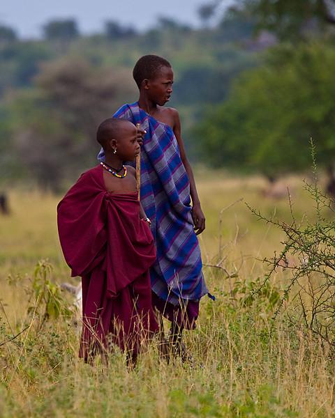 Honorable Mention<br /> Maasai Herders<br /> Carol Williamson