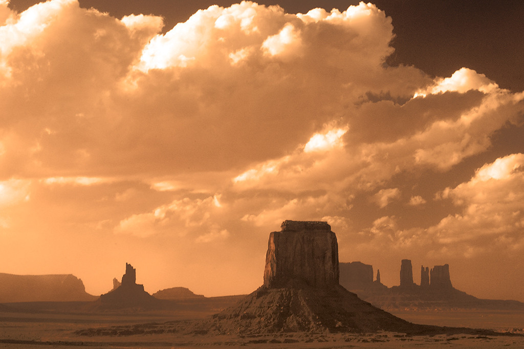 Second Place<br /> Monument Valley<br /> Walt Beaumont
