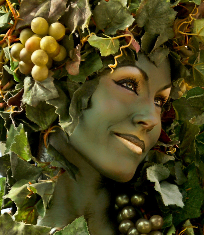 Honorable Mention<br /> Botanical Woman<br /> Nancy Springer