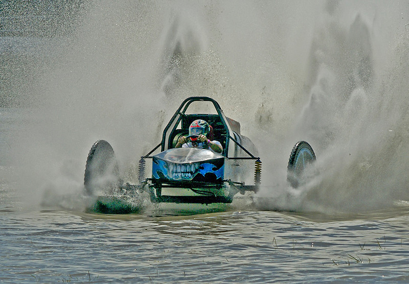 Second Place (Tie)<br /> Swamp Buggy Curve<br /> Nancy Springer