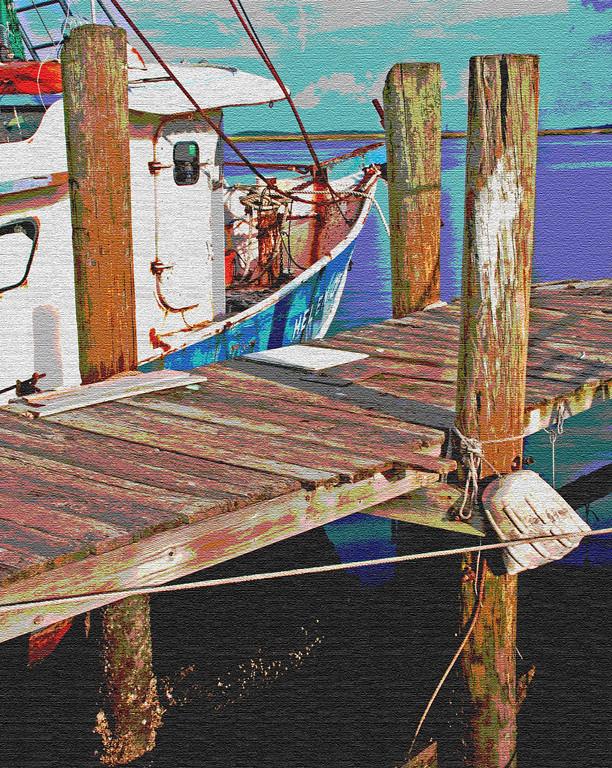 Third Place (Tie)<br /> Dock and Boat Scenario<br /> Len Messineo