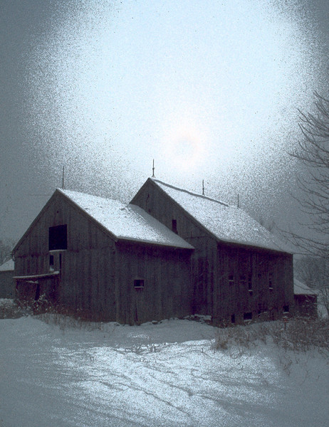 Third Place (Tie)<br /> Winter Barn<br /> Bob Bachand