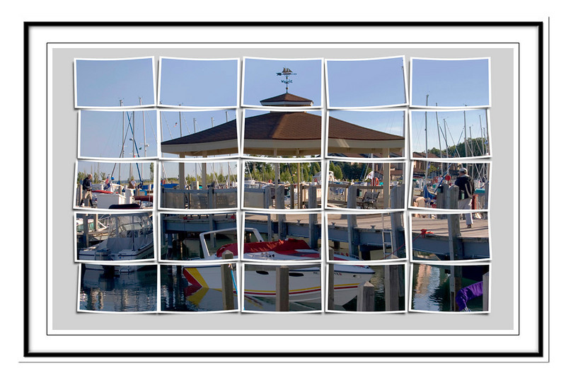 Third Place (Tie)<br /> Elk Rapids Marina in Pictures<br /> Dana Vannoy