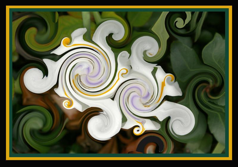 Third Place (Tie)<br /> Swirls<br /> Della Landheer