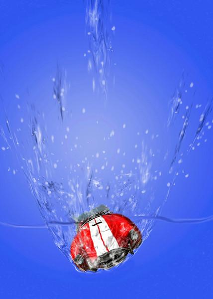 First Place (Tie)<br /> Splish Splash<br /> Nancy Springer