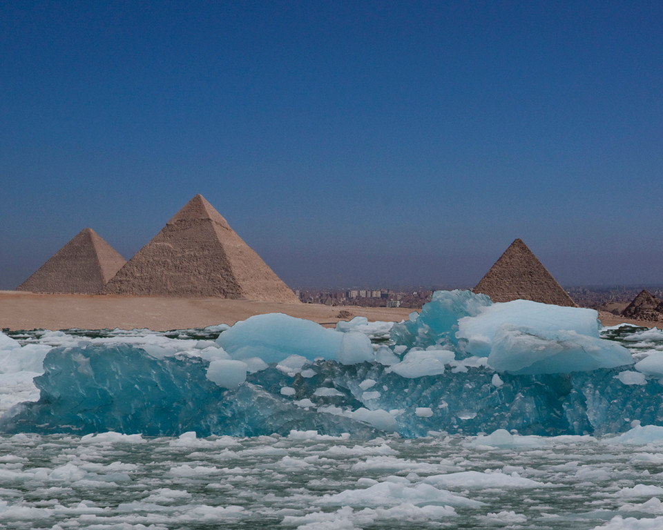 Second Place (Tie)<br /> When Giza Freezes Over<br /> Carol Williamson