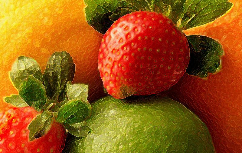 First Place (Tie)<br /> Glazed Fruit<br /> Janet Bigalke