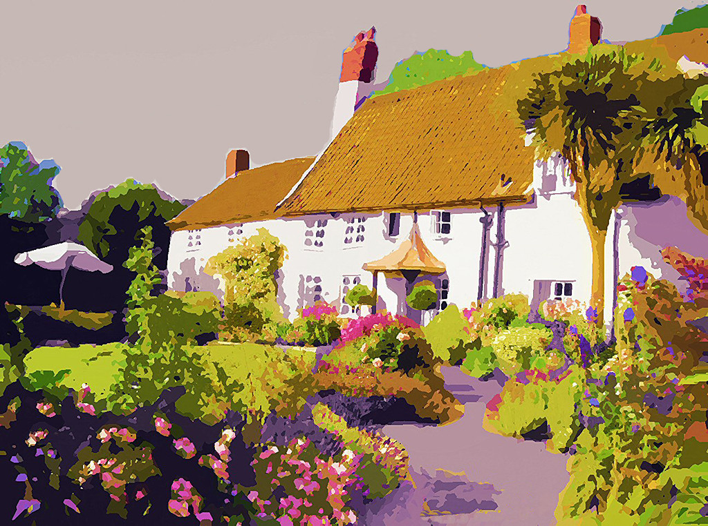 Third Place (Tie)<br /> Dream Cottage<br /> Ed Cohen
