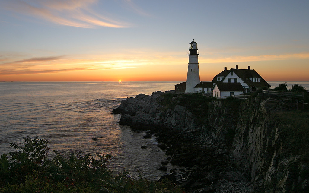 Honorable Mention<br /> Portland Head Light<br /> Mike Landwehr