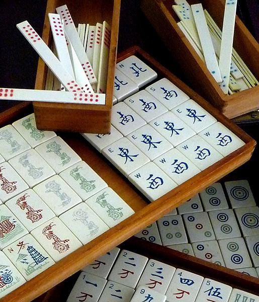 Second Place <br /> Mahjong<br /> B. J. Walker