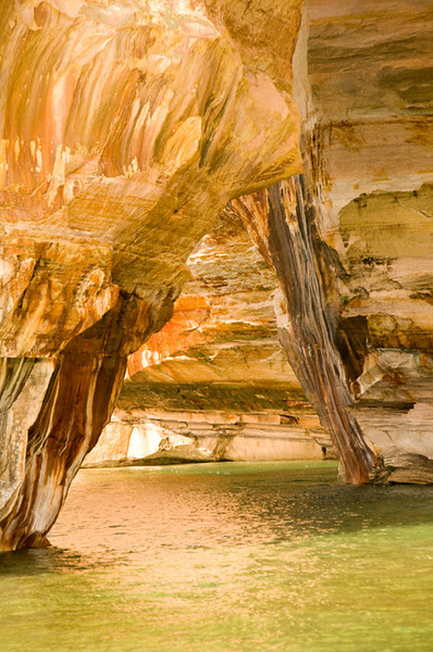 Third Place (Tie)<br /> Munising Cave<br /> Ed Cohen