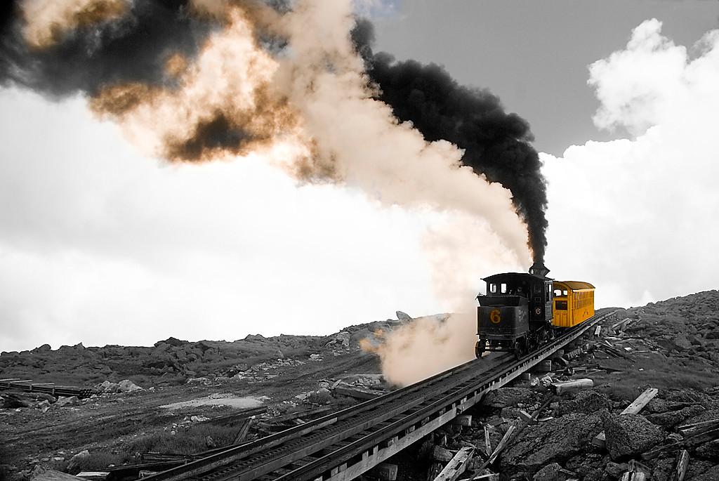First Place (Tie)<br /> Train Pushing<br /> Ken Rathjen