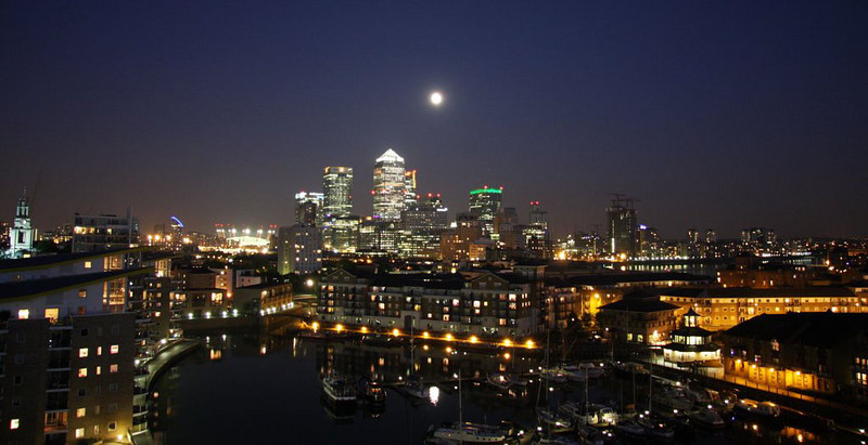Honorable Mention<br /> Limehouse Moon<br /> David Blackeby