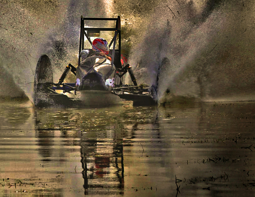 Second Place in Open Class<br /> Swamp Buggy Racer<br /> Nic Provenzo