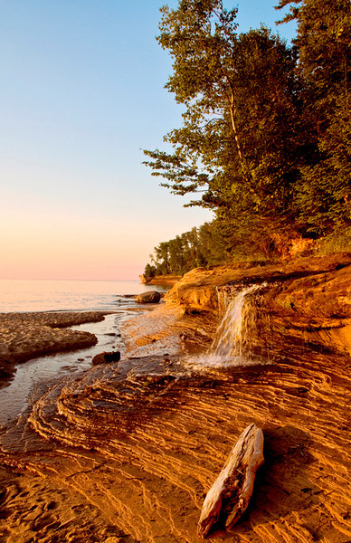Third Place (Tie)<br /> Munising Falls<br /> Ed Cohen