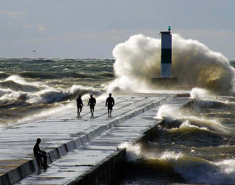 First Place (Tie)<br /> The Wave<br /> Della Landheer