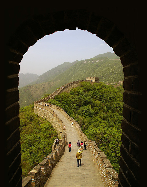 First Place<br /> Great Wall of China<br /> Della Landheer