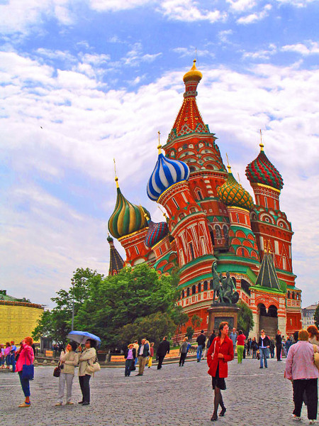 First Place<br /> Tipsy St. Basil's Cathedral<br /> Al Oppenheim