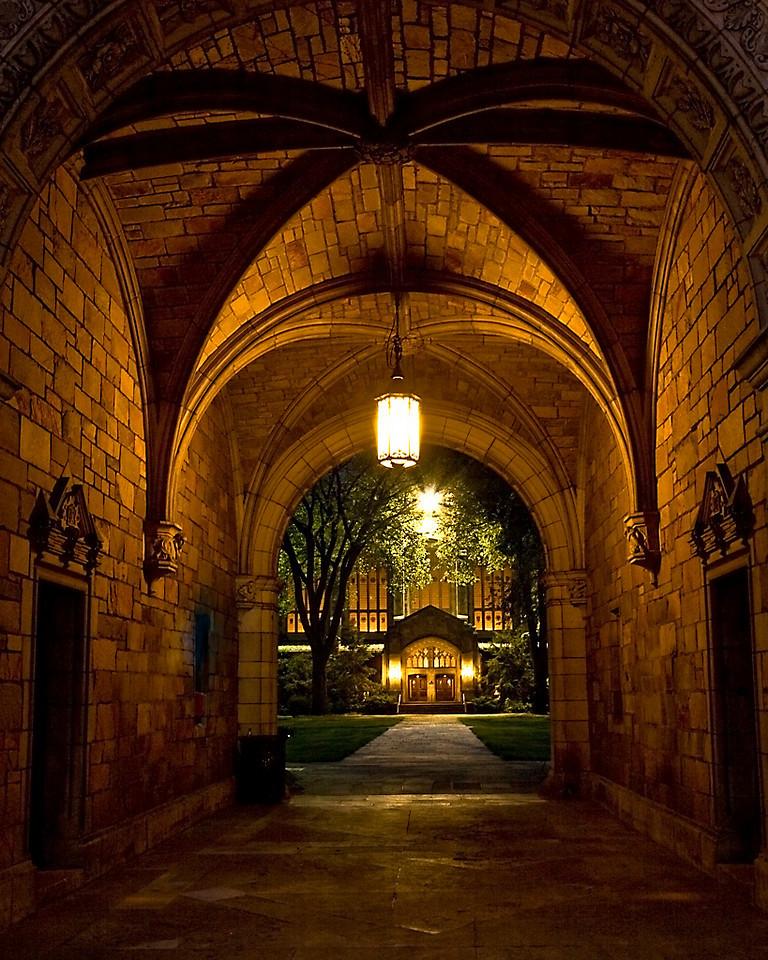 Second Place (Tie)<br /> University of Michigan Law Quad<br /> Carol Williamson