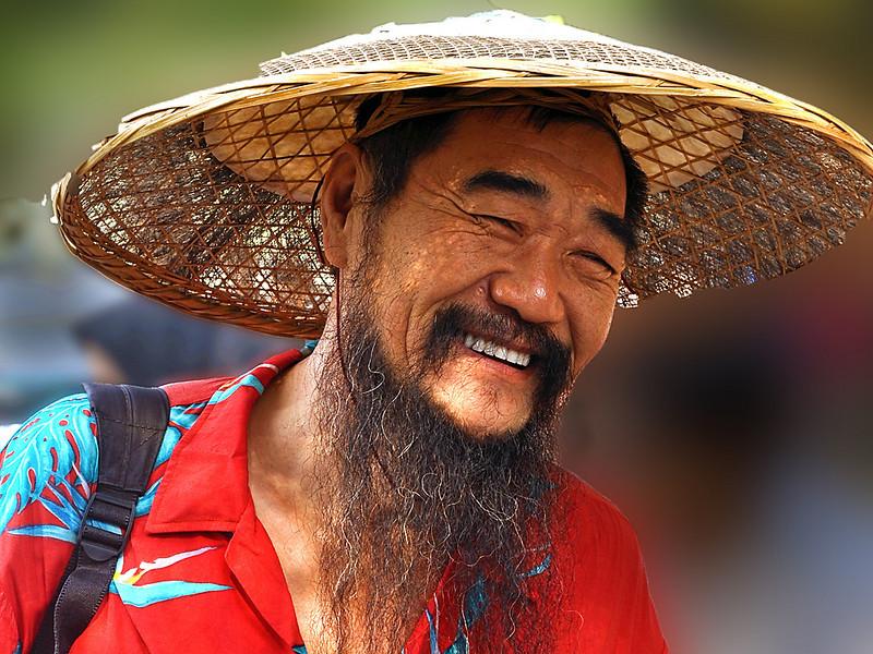 Third Place (Tie)<br /> Happy Chinaman<br /> Ken Rathjen