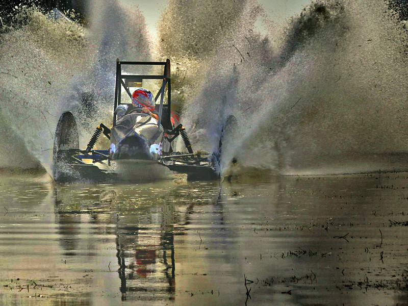 First Place (Tie)<br /> Swamp Buggy Racer<br /> Nic Provenzo