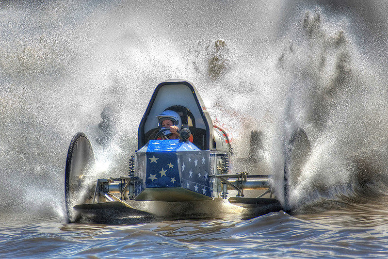 Open Print Image of the Year<br /> Swamp Buggy Racing<br /> Mike Landwehr
