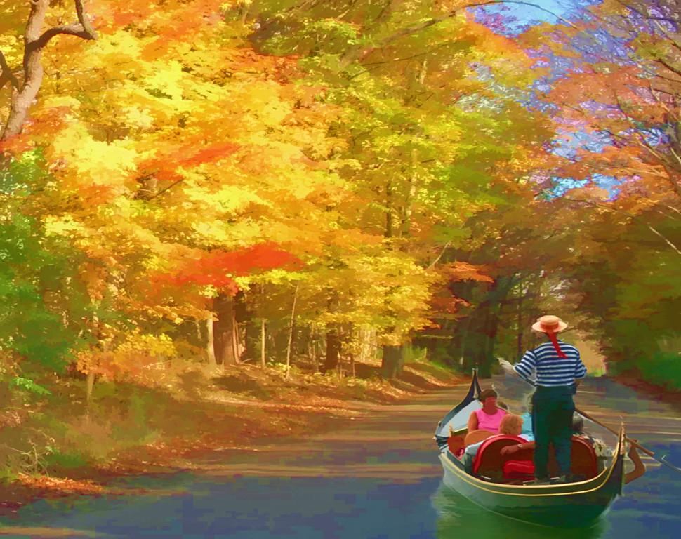 Honorable Mention<br /> Gondola Ride<br /> Gail Crichton