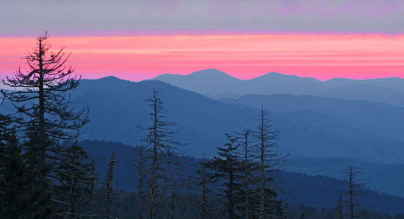 Second Place (Tie)<br /> Smoky Mountain Sunrise<br /> Dave Garrison
