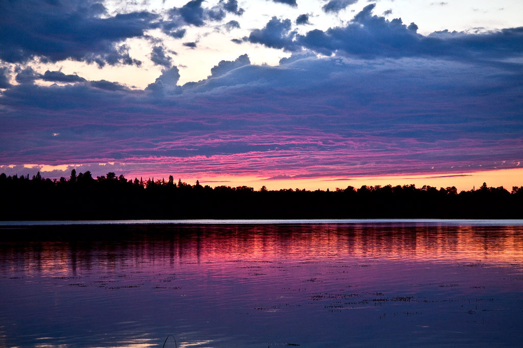 Third Place (Tie)<br /> Canada Sunset<br /> Jim Carter