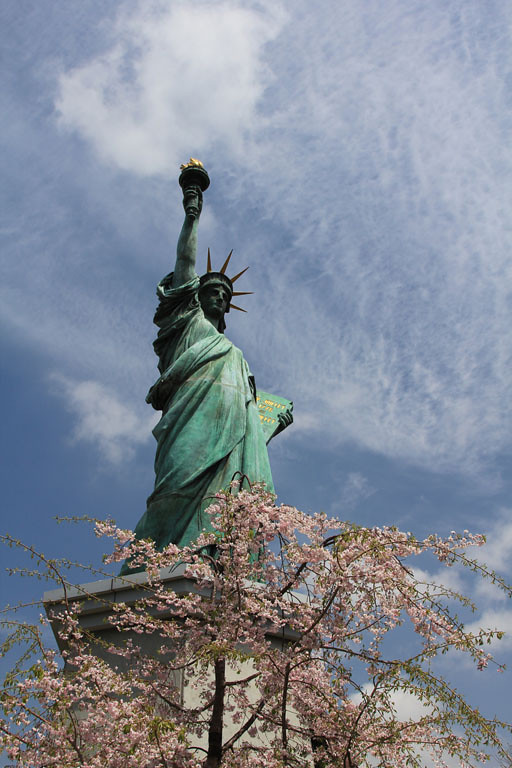 Third Place (Tie)<br /> Tokyo Statue of Liberty<br /> Paula Blackeby