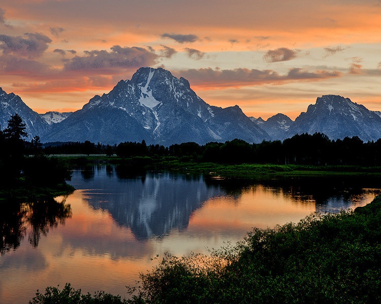 First Place<br /> Teton Sunset<br /> Dave Garrison