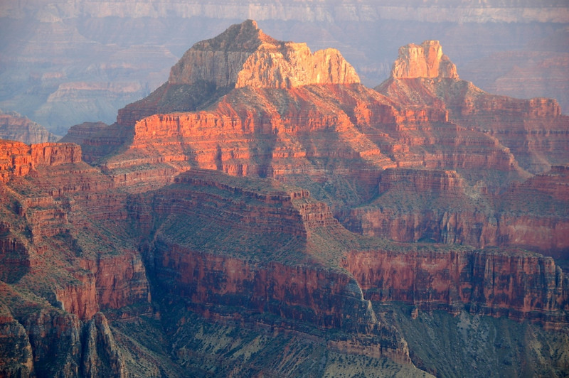 Second Place (Tie)<br /> Grand Canyon Sunset<br /> Rich Johnson