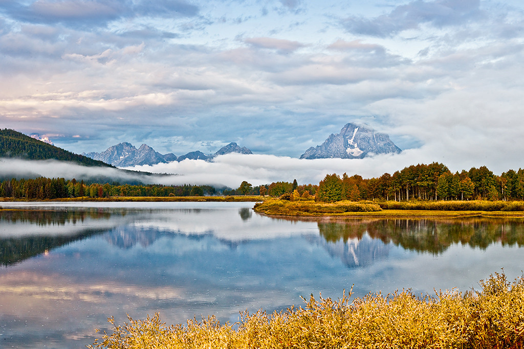 Third Place (Tie)<br /> Stormy Day at Oxbow Bend<br /> Walt Beaumont