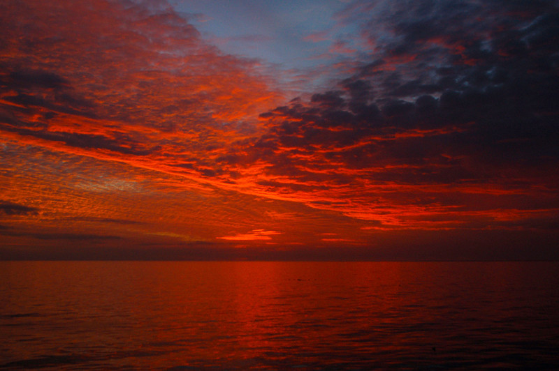 Second Place (Tie)<br /> Christmas Sunset at Naples Pier<br /> Katie Mazer