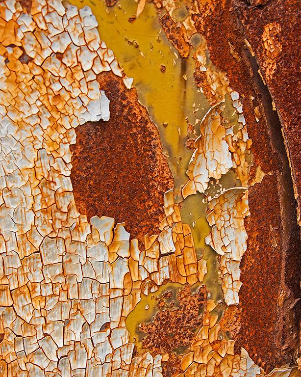 First Place (Tie)<br /> Junk Yard Mosaic<br /> Carol Williamson
