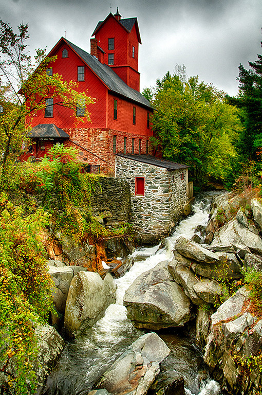 Open Projection Image of the Year<br /> Projection Image of the Year<br /> Vermont Grist Mill<br /> Ed Cohen