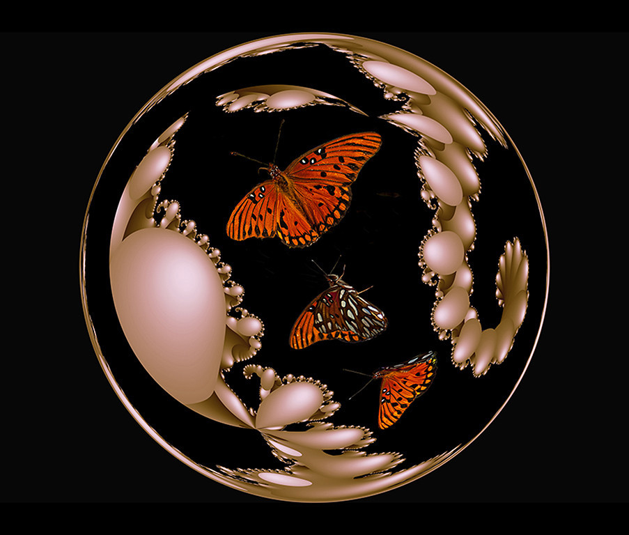 Second Place<br /> A World of Pearls and Butterflies<br /> Nancy Springer