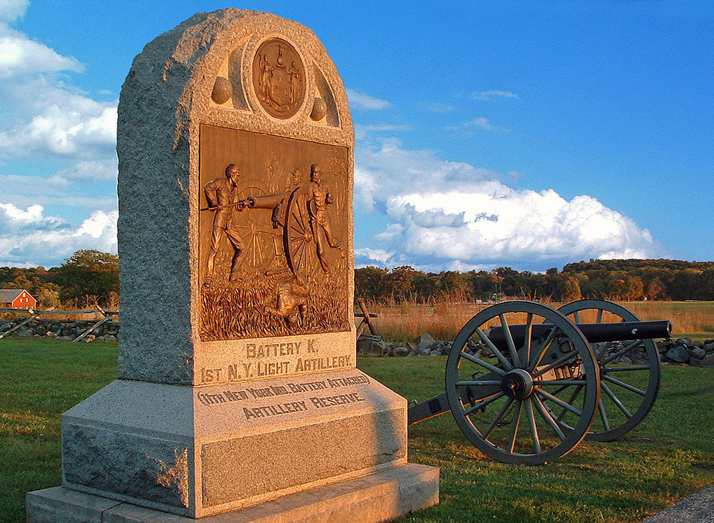 First Place (Tie)<br /> Gettysburg<br /> Della Landheer