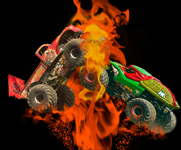Third Place (Tie)<br /> Monster Truck Explosion<br /> Nancy Springer