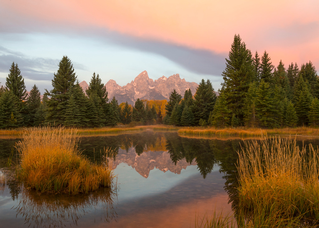 First Place (Tie)<br /> Red Teton Morning<br /> Kathy Snead