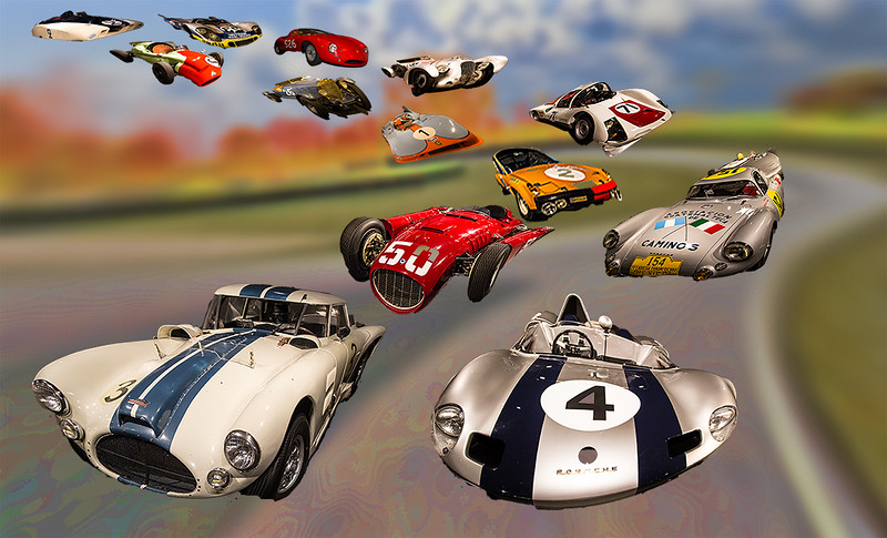 Second Place (Tie)<br /> Race Cars From Heaven<br /> Jay Feldman