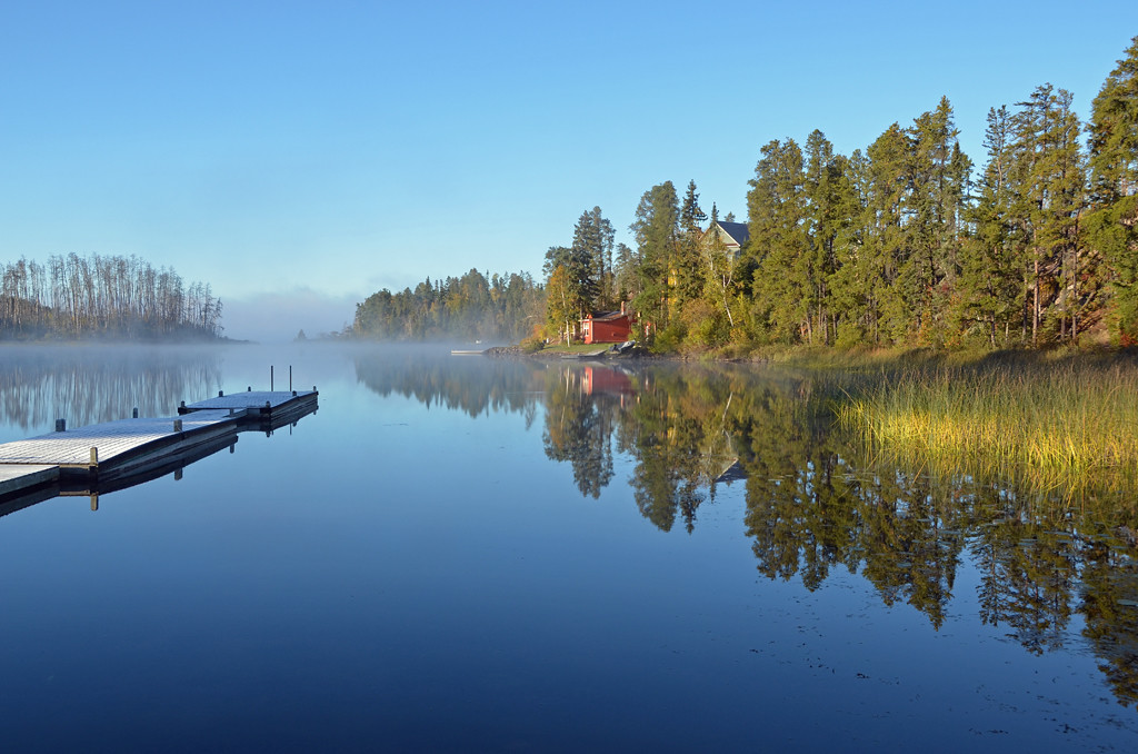 First Place<br /> Seagull Lake Morning<br /> Rich Johnson