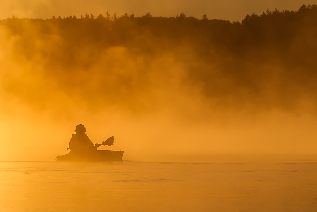 Kayaker Sunrise