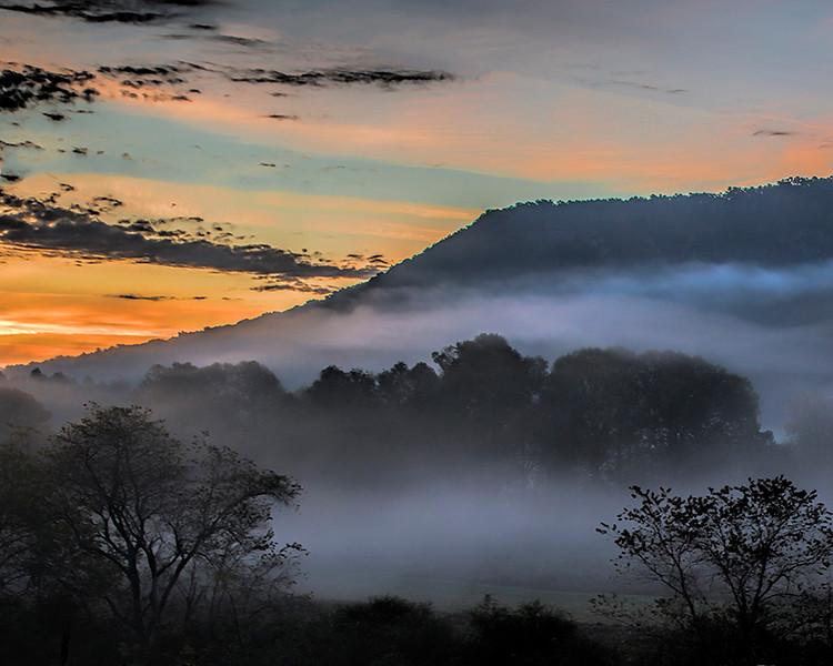 Smokey Mtn. Fog