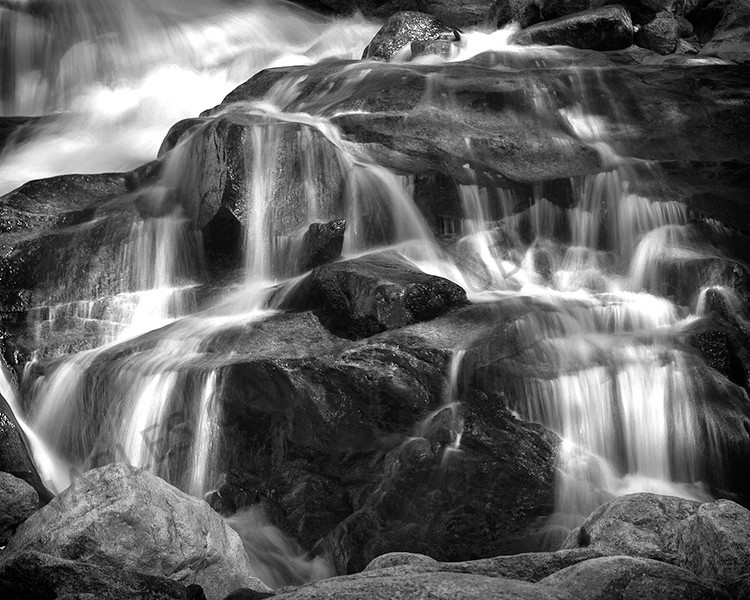 Monochrome Projection Image of the Year<br /> Alluvial<br /> Dave Garrison