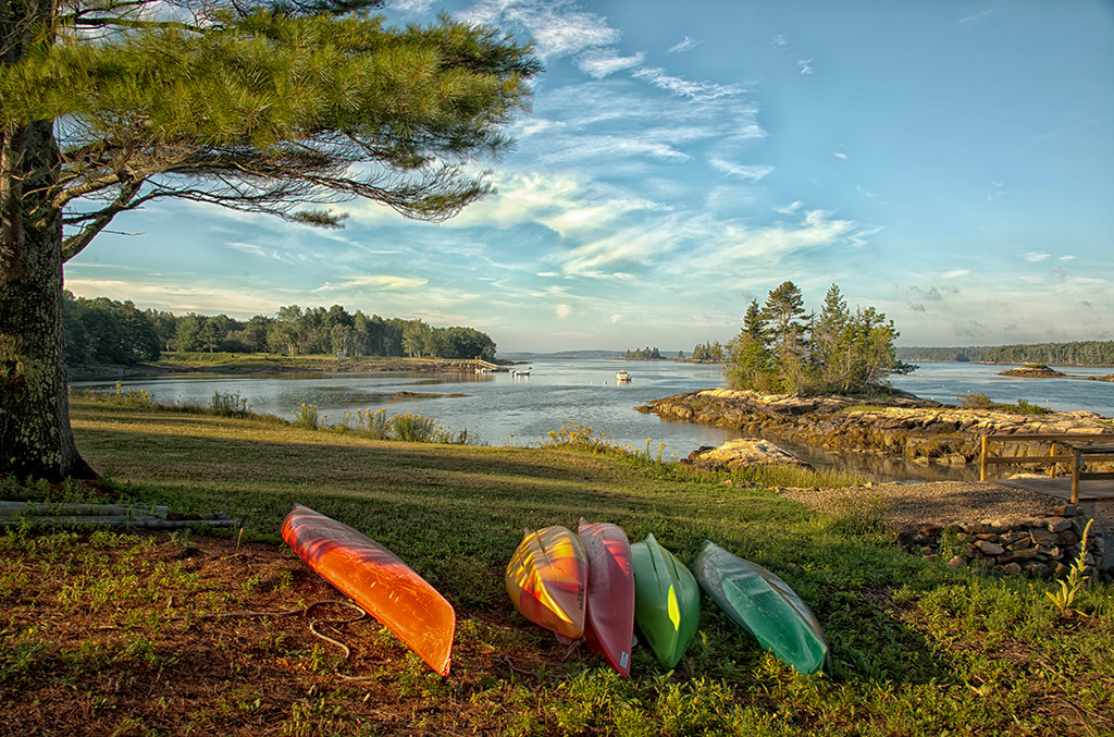 Canoes of Maine<br /> First Place (Tie)<br /> Ed Cohen