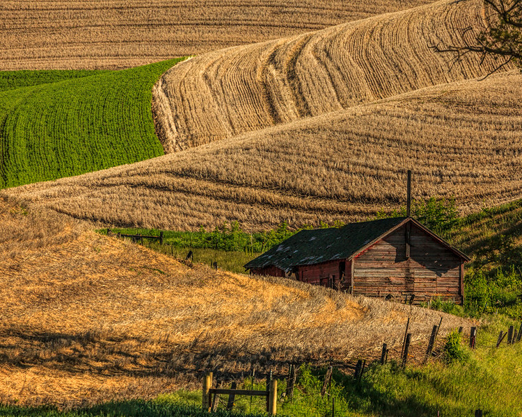 Barn in the Hills<br /> First Place (Tie)<br /> Dave Garrison