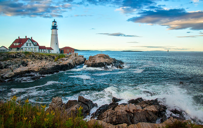 Maine Lighthouse<br /> First Place (Tie)<br /> Ed Cohen