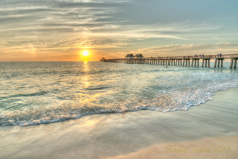 Naples Pier Revisited<br /> Third Place (Tie)<br /> Kathy Snead