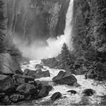 First Place (Tie)<br /> Lower Yosemite Falls<br /> Bob Kenedi